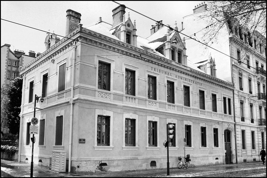 Tribunal Administratif De Grenoble Rencontre De Droit Public Du